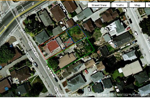 Picture of side-by-side properties showing how they are divided for use.