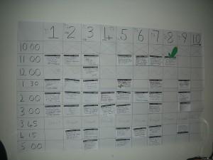 CLS-2009_Saturday_schedule